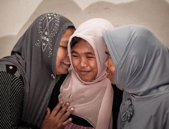 Raudhatul Jannah re-united with her parents 10 years after tsunami