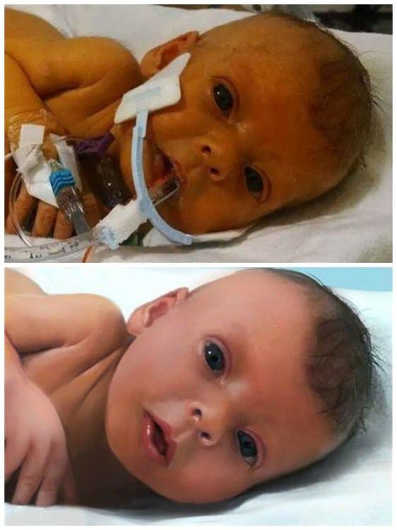 Reddit members photoshop baby Sophia Steffel
