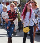 Reese Witherspoon with Ava Phillippe and son Tennessee Toth