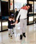 Ricky Martin Travels With His Sons Matteo and Valentino