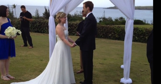 Rob and Erin Marshall getting married
