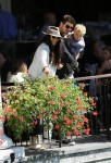 Robin Thicke and his wife Paula Patton enjoy a day with Julian at Central Park, NYC