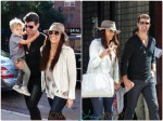 Robin Thicke and Paula Patton Step out with their son Jullian in NYC