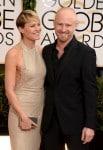 Robin Wright & Ben Foster- 71st annual Golden Globe Awards
