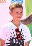 Romeo Beckham attends The Nickelodeon Kids Choice Sports Awards in Los Angeles