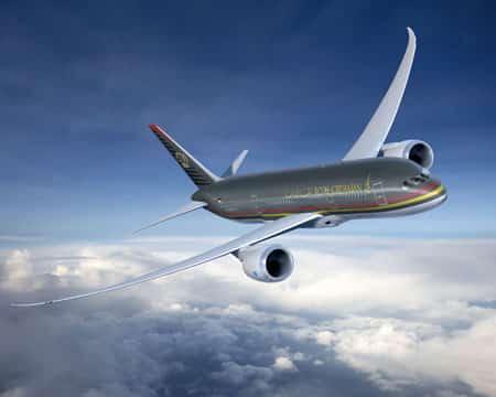 Royal Jordanian twin-jet Boeing Dreamliner