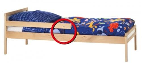 Ikea Sniglar Bed recall