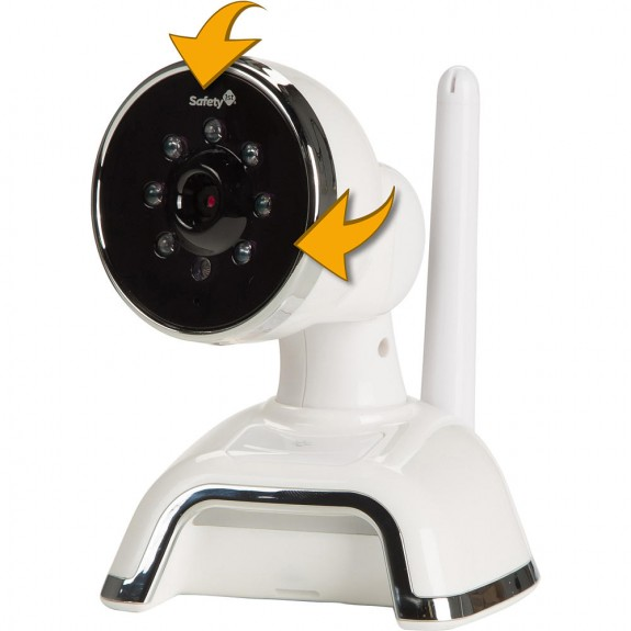 Safety 1st Tech Touch Digital Color Video Monitor - camera