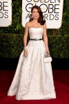 Salma Hayek - 72nd annual Golden Globe Awards