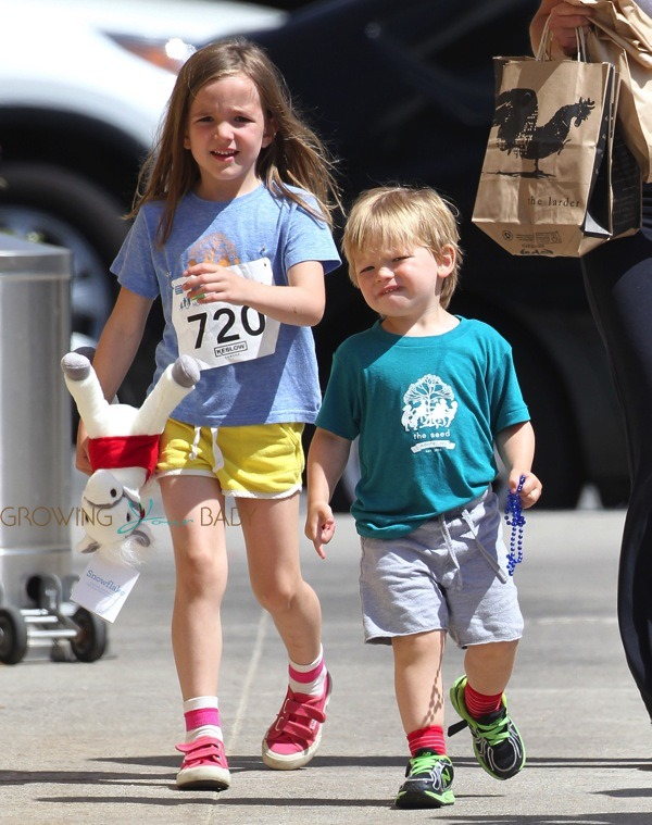 Samuel And Seraphina Affleck At The 2nd Annual Quot Home Run