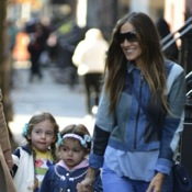 SJP Does The School Run in NYC
