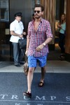 Scott Disick leaves Trump SoHo hotel