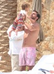 Scott Disick with daughter Penelope in Cabo San Lucas