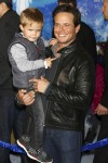 Scott Wolf and son Jackson attend the Disney's 'Frozen' Los Angeles premiere
