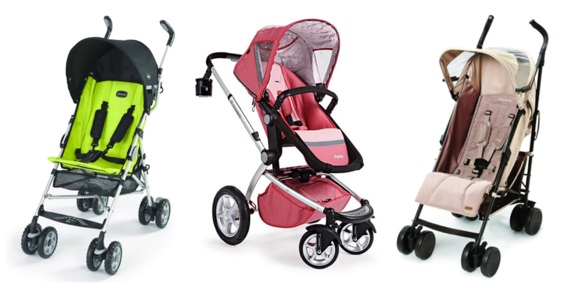 (L-R) Chicco CT 0.6, Maxi Cosi Foray, Baby Cargo Series 300