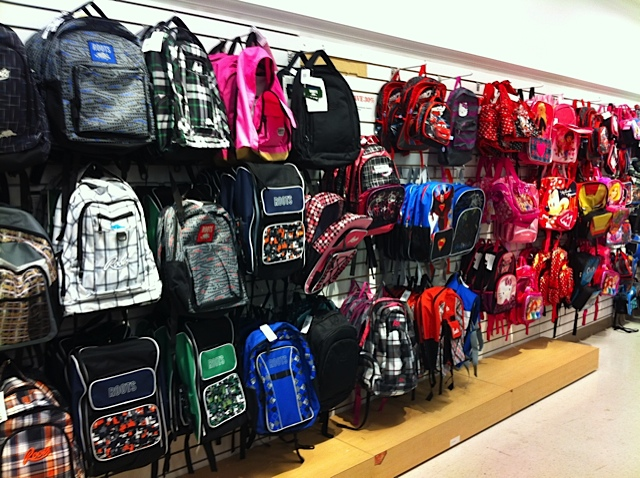 Sears Back To School - backpacks