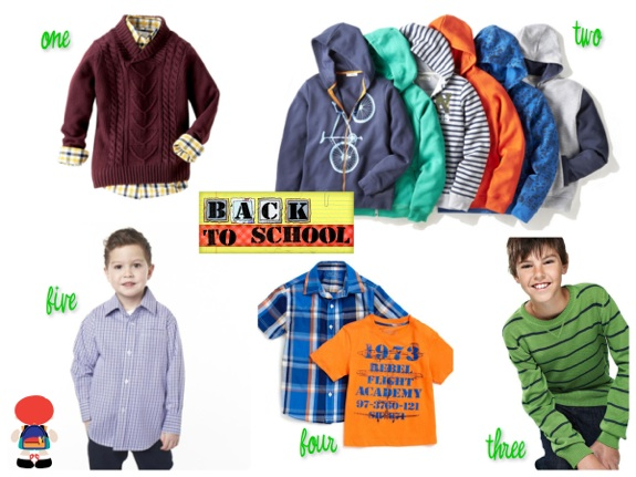 Sears back to school - boys