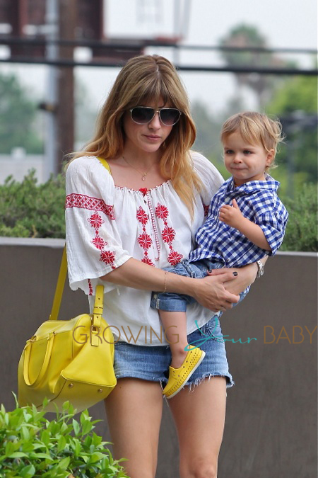 Selma Blair Out In LA With Son Arthur Bleick