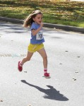 "Seraphina Affleck participates in the 2nd annual ""Home Run For Kids"" race"