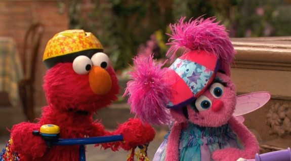 Sesame Street elmo and abby