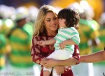 Shakira @ FIFA 2014 World Cup Finale with  son MIlan