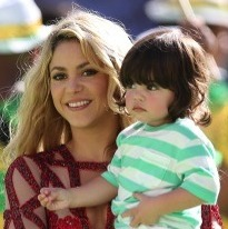Shakira Shares World Cup Finale Excitement With Son Milan!