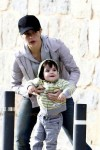 Shakira and son Milan attend church service in Barcelona