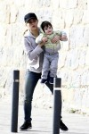Shakira and son Milan in Barcelona