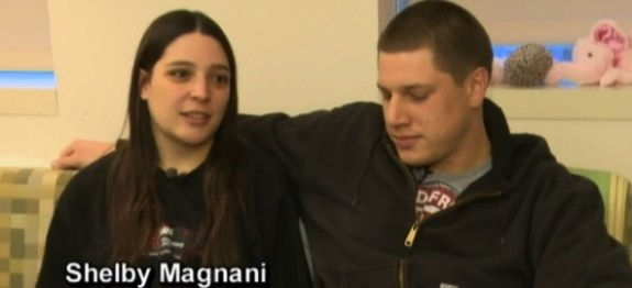 Shelly Magnani and her fiance James Croskey