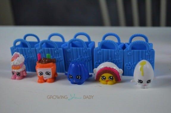 Shopkins 5pk characters