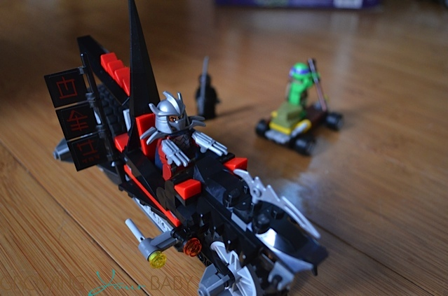 Shredder's Dragon Bike Teenage Mutant Ninja Turtle Lego Set