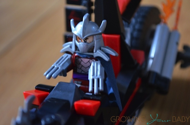 Shredders Dragon Bike Teenage Mutant Ninja Turtle Lego Set