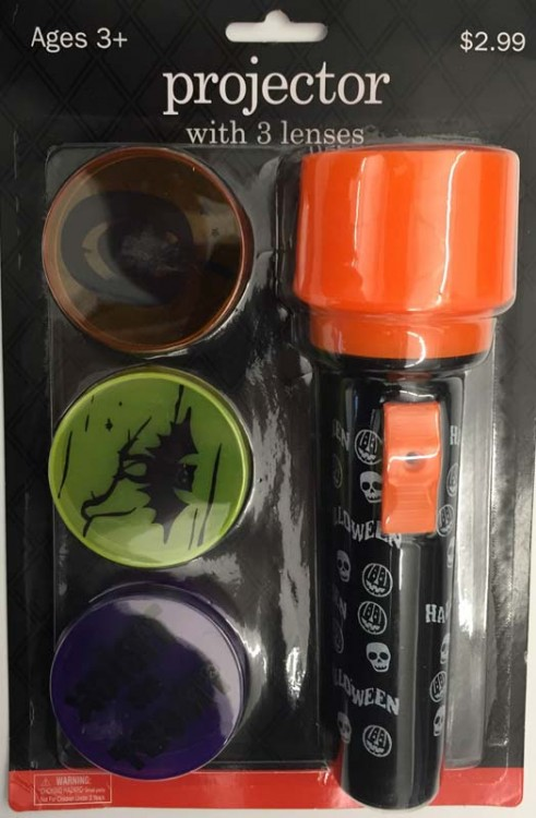 Signature Designs Halloween image projector with three lenses