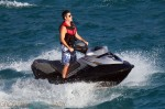 Simon Cowell Jet Skis in St