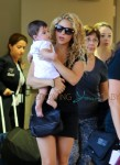 Shakira Arrives At LAX With Her Son, Milan Pique
