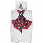Snurk childrens Flamenco Bedding