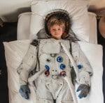 Snurk childrens astronaut bedding
