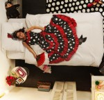 Snurk flamenco childrens bedding