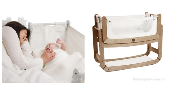 SnuzPod 3 in 1 Bedside Crib lifestyle
