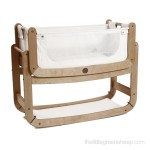SnuzPod's 3 in 1 Bedside Crib - natural