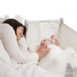SnuzPod's 3 in 1 Bedside Crib - natural