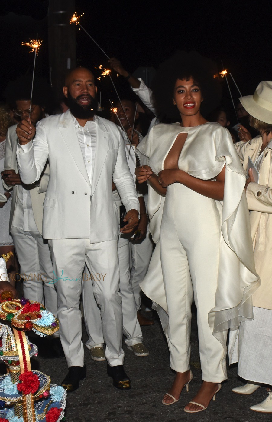 Solange Knowles And Alan Ferguson Party After Their