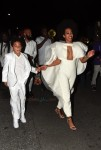 Solange Knowles with sonDaniel Julez Smith JR after her wedding