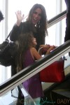 Soleil Moon Frye and daughters spotted at LAX