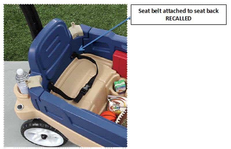 Step 2 Ride On Wagon Seatbelt