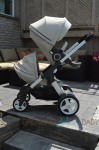 Stokke Crusi as a double stroller