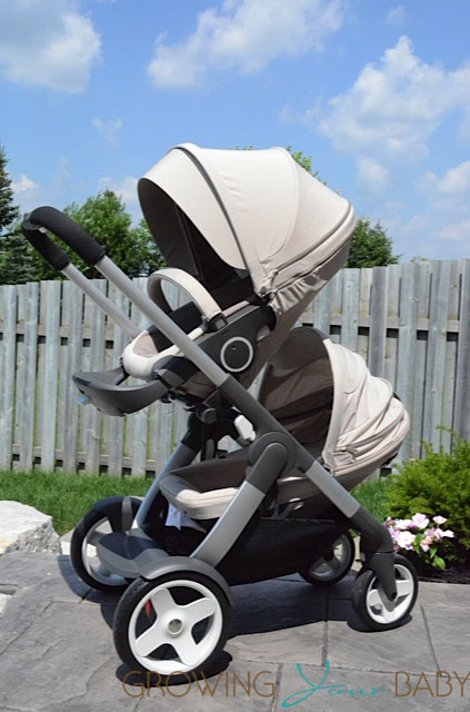 Stokke Crusi with second seat installed