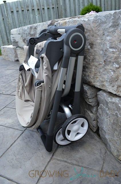 Stokke Scoot - folded
