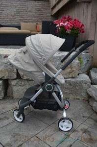 Stokke Scoot - rear facing rest position
