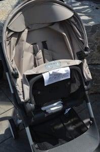 Stokke Scoot - seat folded